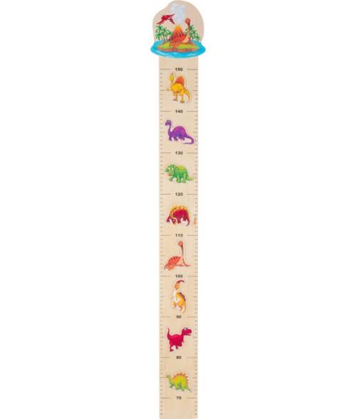"""Medinis ūgio matuoklis """"Dinozaurai"""" 150cm"""