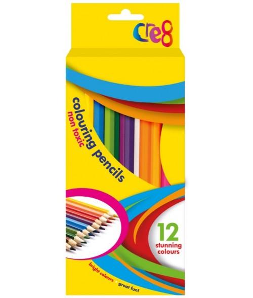 Spalvotų pieštukų rinkinys (12 vnt)