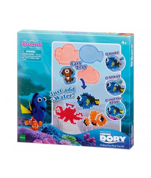 """Disney """"Žuvytė Dori"""" vandens perlų dėlionė su formelėmis"""