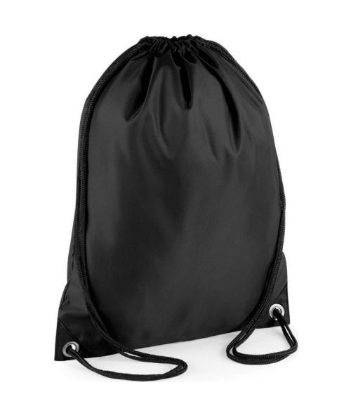Sportinis maišelis aprangai (juodas)