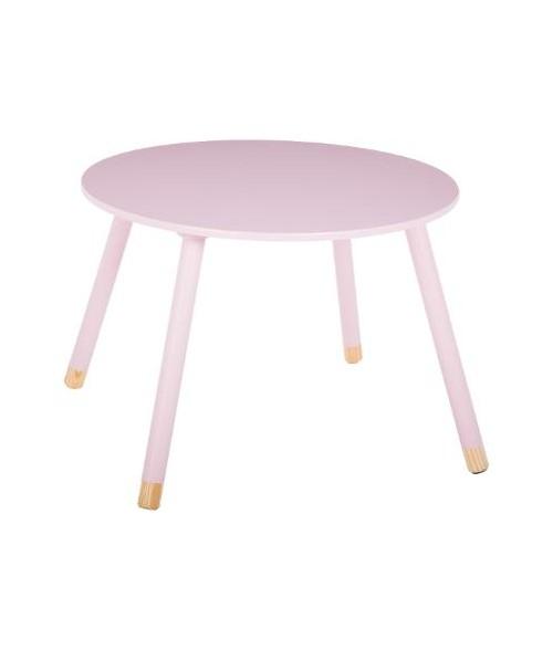 Vaikiškas rožinis staliukas 60 x 43cm