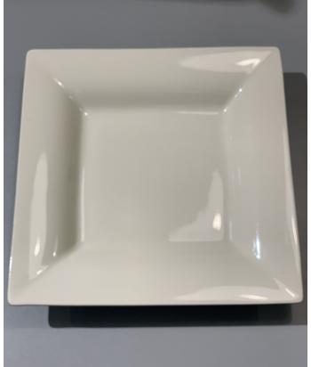 Faria & Bento akmens masės smėlio spalvos pietų lėkštė 4x25cm