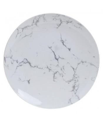 Porcelianinė pietų lėkštė WHITE MARBLE 26cm