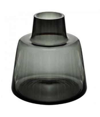 Pilko stiklo vaza EPAULE 23cm