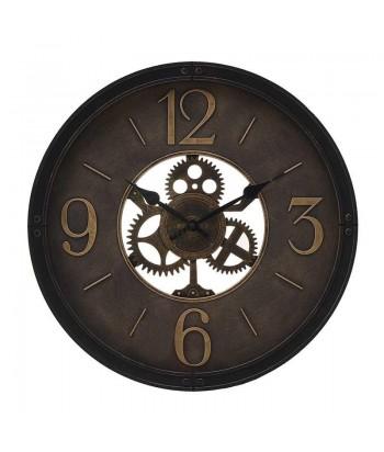 Industrinio stiliaus sieninins laikrodis ANTIQUE 50cm