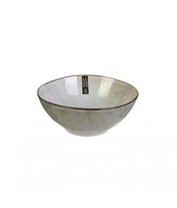 Akmens masės pilkas dubenėlis GALET 14.5x6cm