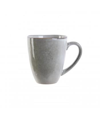 Akmens masės pilkas arbatos puodelis GALET 10.5x9cm
