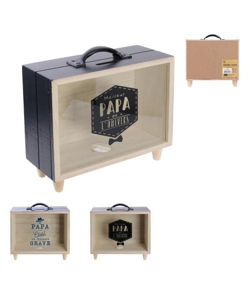 Taupyklė lagaminėlis PAPA 21x18x7.5cm