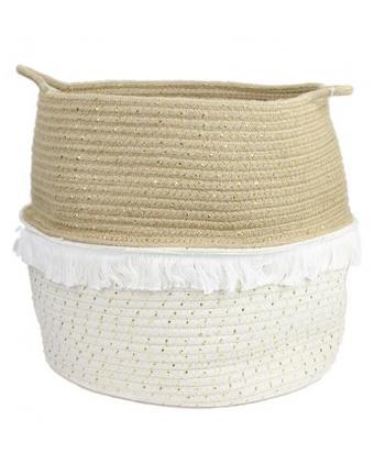 Tekstilinis pintas krepšys Dore L 35x33x35cm