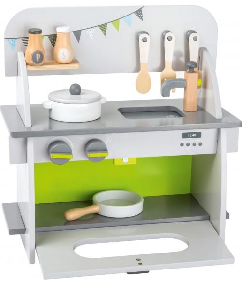 Medinė virtuvėlė COMPACT