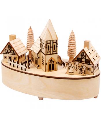 """Muzikinė dėžutė """"Kalėdinis kaimelis"""""""