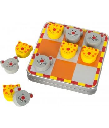 Magnetinis stalo žaidimas CAT & MOUSE metalinėje dėžutėje
