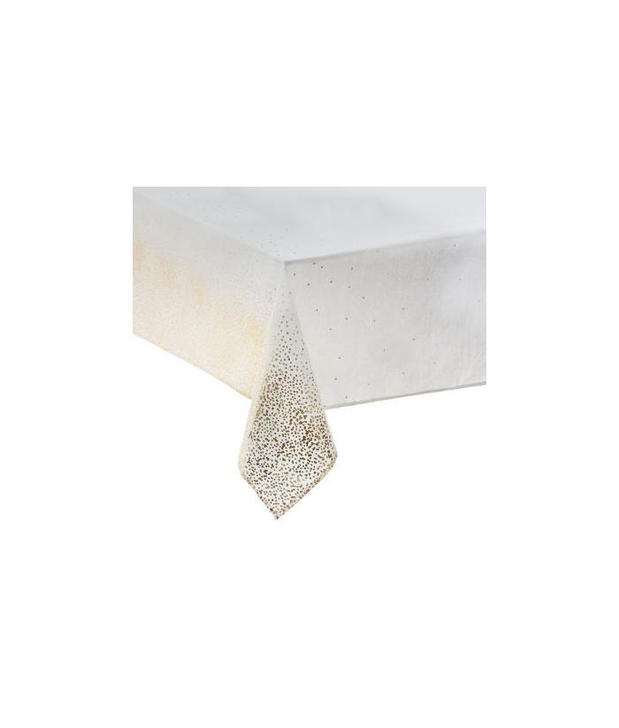 Balta  šventinė staltiesė 140 x 240cm