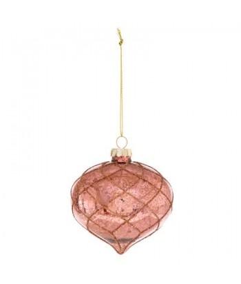 Stiklinė eglutės dekoracija MERCURISE 8cm