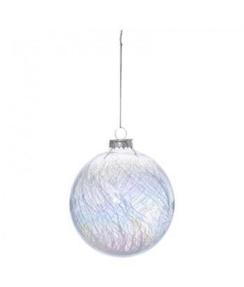 Stiklinė eglutės dekoracija IRID 10cm