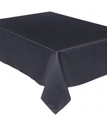 Dėmėms atspari juoda staltiesė 240x140cm