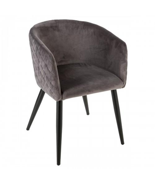 Valgomojo kėdė MARLO (pilka)
