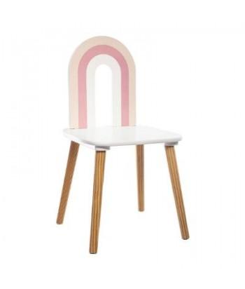 Vaikiška kėdutė PINK RAINBOW 32x60cm