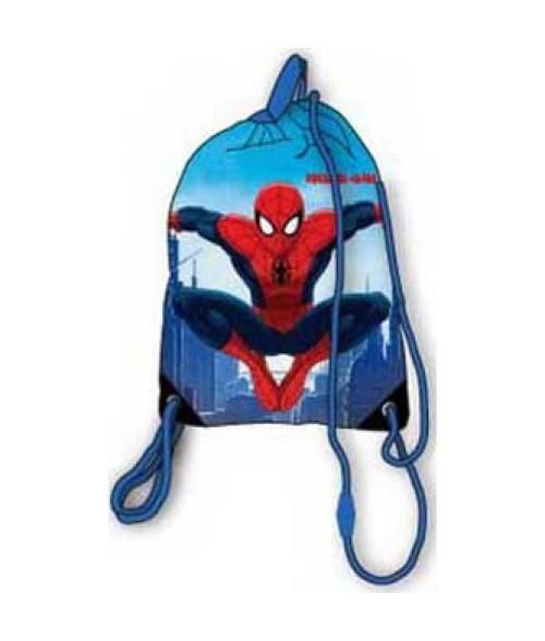 Spiderman sportinis maišelis aprangai (Mėlynas)