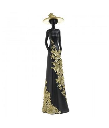 Juodai auksinė statulėlė MADAME 26cm