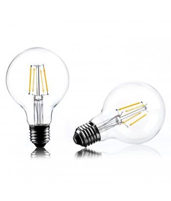 Home Deco 2W LED Lemputė, šilta šviesa, E27, 126 x Ø 80mm