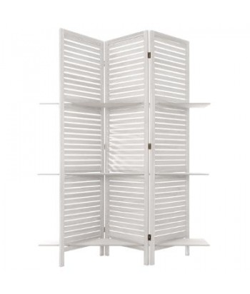 Balta širma su lentynėlėmis 170cm