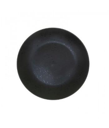 Juoda keramikinė desertinė lėkštė CLUSTER BLACK 20cm