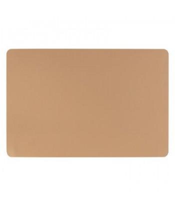 Karamelinės spalvos dvipusis eco odos stalo padėkliukas 45x30cm