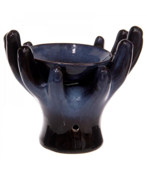 Keramikinis eterinių aliejų garintuvas OPEN HANDS 14cm