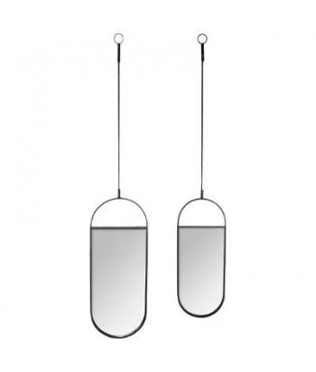Ovalių veidrodžių rinkinys SUSPENDUS (2vnt)