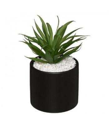 Dirbtinis augalas juodame vazonėlyje 17.5cm