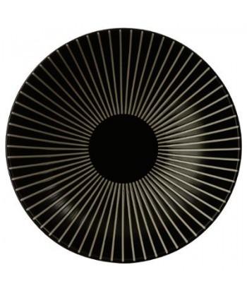 Akmens masės sriubos lėkštė BLACK SUN 19cm