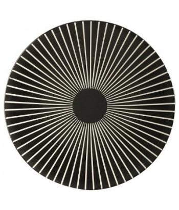 Akmens masės desertinė lėkštė BLACK SUN 21cm
