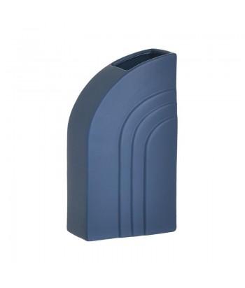 Keramikinė vaza BLUE TRAPEZ 23cm
