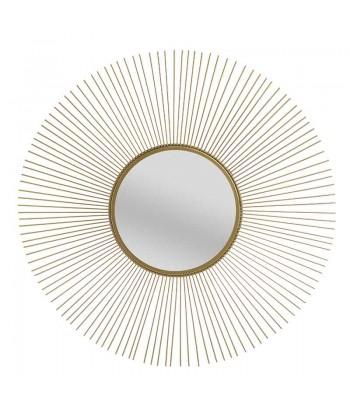 Aukso spalvos veidrodis SUN 62cm