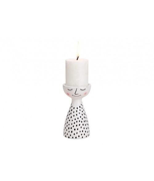 Keramikinė žvakidė FRAU 15cm
