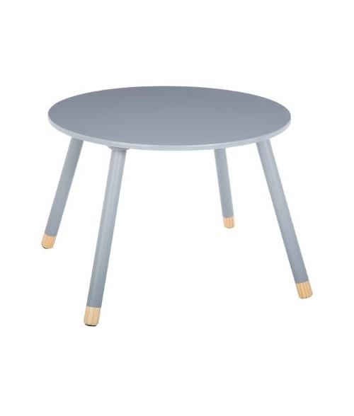Vaikiškas pilkas staliukas 60 x 43cm