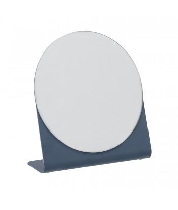 Pastatomas veidrodis HAZHIN mėlynu metaliniu rėmu 16cm