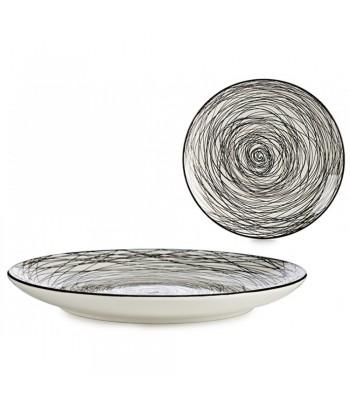 Porcelianinė pietų lėkštė SCRIBBLE 24cm