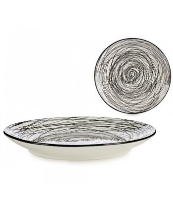 Porcelianinė desertinė lėkštė SCRIBBLE 19.5cm