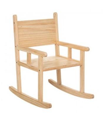 Vaikiška medinė supama kėdutė