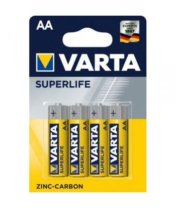 Baterijos Varta Superlife AA/R6 (4vnt)