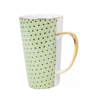 Žalias arbatos puodelis MAXIM 9x15cm