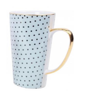 Mėlynas arbatos puodelis MAXIM 9x15cm