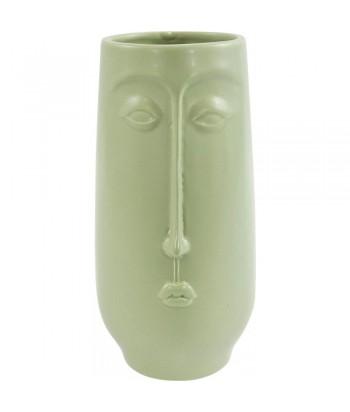 Žalios spalvos vazonas CARA 22cm