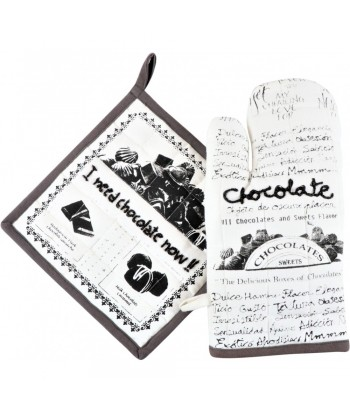 Virtuvės tekstilės rinkinys CHOCOLATE (2vnt)