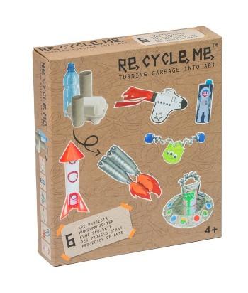 Re-Cycle-Me rankdarbių rinkinys SPACE