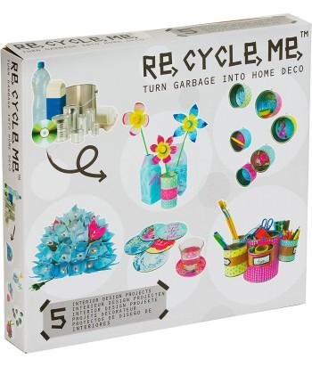Re-Cycle-Me rankdarbių rinkinys HOME DECO II