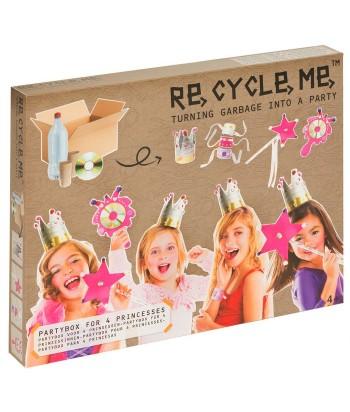 Re-Cycle-Me rankdarbių rinkinys PRINCESS PARTY