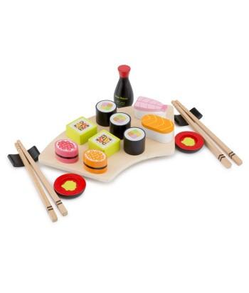Vaikiškas medinis Sushi rinkinys